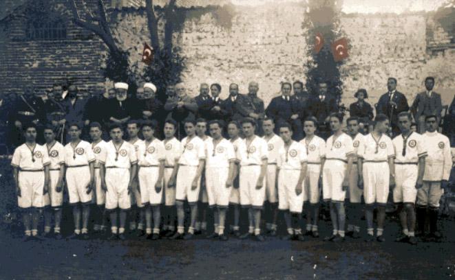 Bursa Türk Ocağı Spor Derneği'nin Resmi Açılış Hatırası