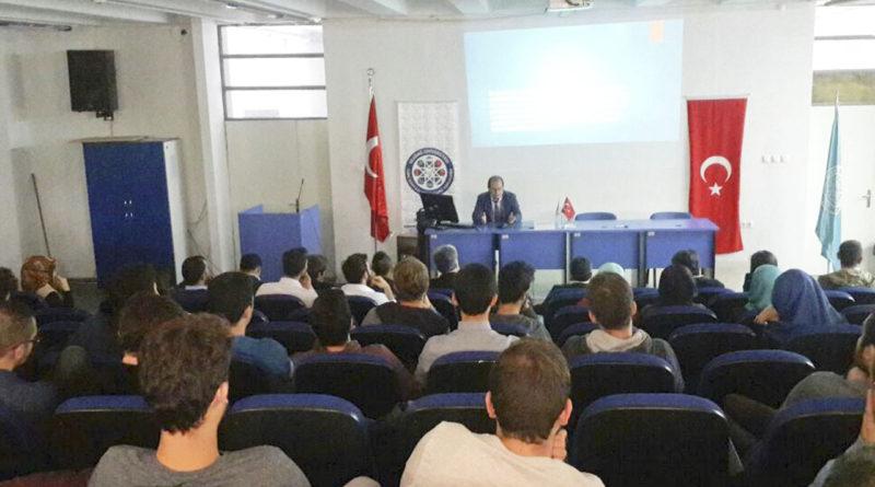 Prof.Dr.Selçuk Kırlı Uludağ Üniversitesinde Konferans Verdi