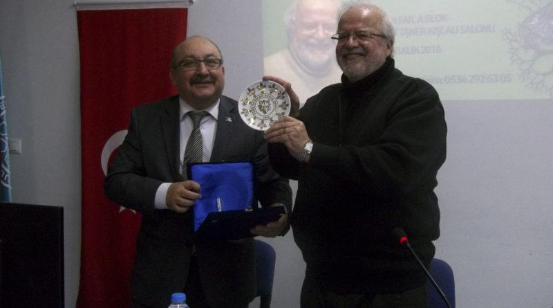 Türk Dünyası Ve Kültürü Topluluğu Prof.Dr. İskender Öksüz'ü Dinletti