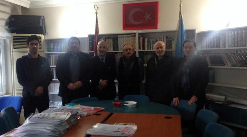 Telafer'li Türkmen Kardeşlerden Türk Ocağımızı Ziyaret