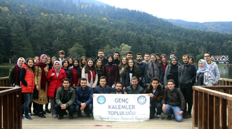 Genç Kalemler Topluluğu Bolu'ya Gezi Düzenledi