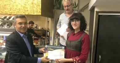 Makale Yarışması Ödülleri Dağıtıldı