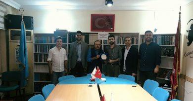 Bursa Türk Ocağı Gençlik Kolları'nda Bayrak Değişimi