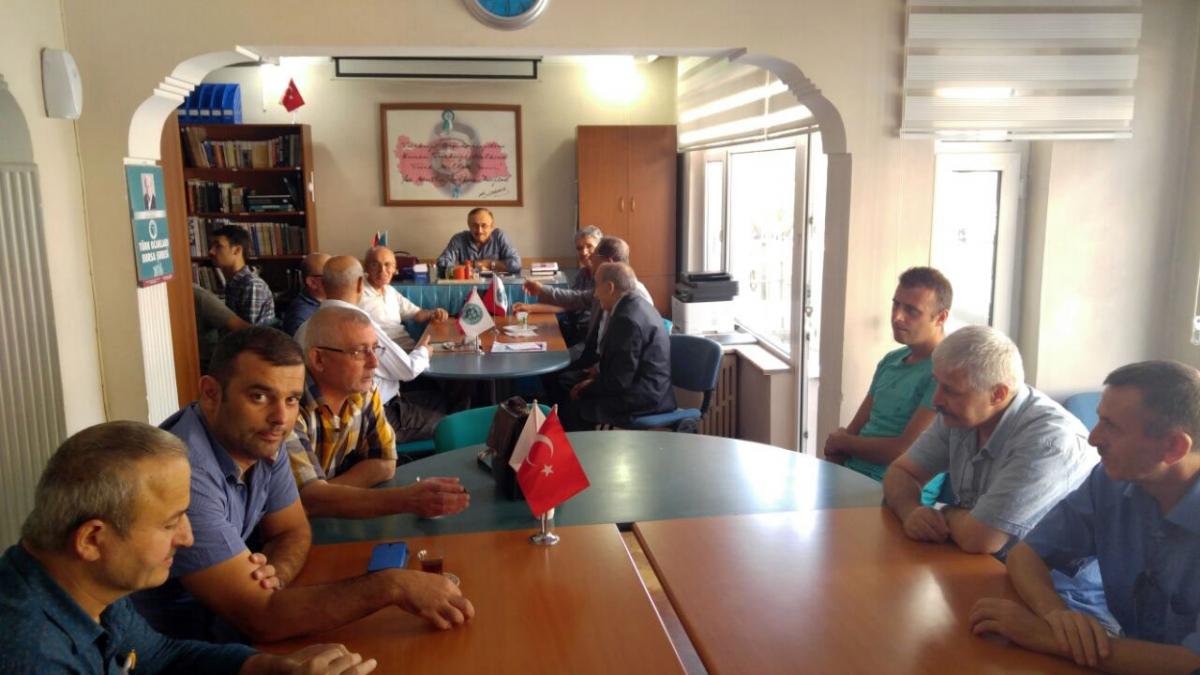 Bursa Türk Ocağı'nda Bayramlaşma