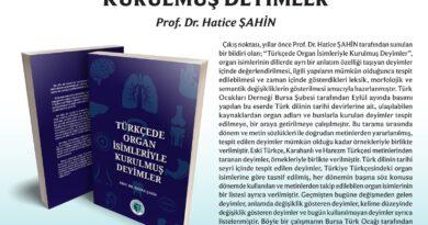 Türkçede Organ İsimleriyle Kurulmuş Deyimler-Yayın